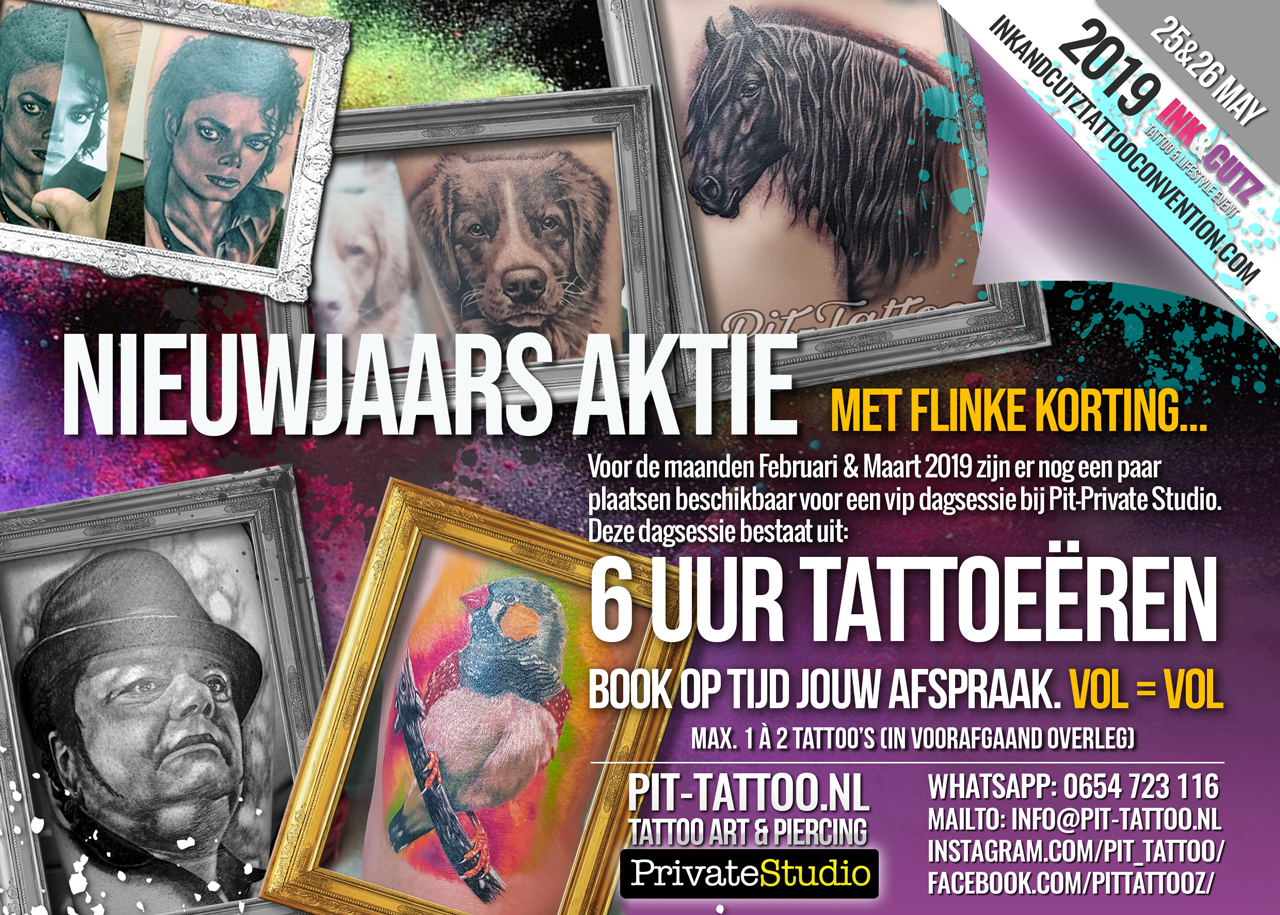 Goede WEEK ACTION – Pit-Tattoo GG-02